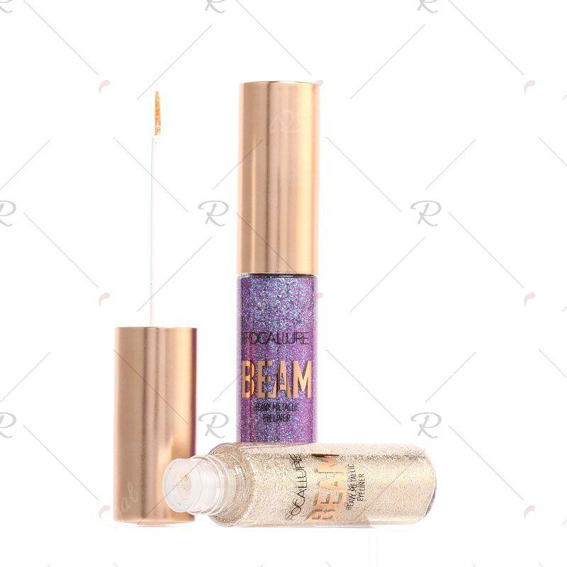 FOCALLURE Heavy Glitter Eyeliner #glittereyeliner