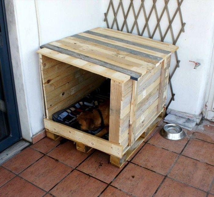 dem besten freund eine hundeh tte selber bauen m bel aus paletten pinterest hundeh tten. Black Bedroom Furniture Sets. Home Design Ideas