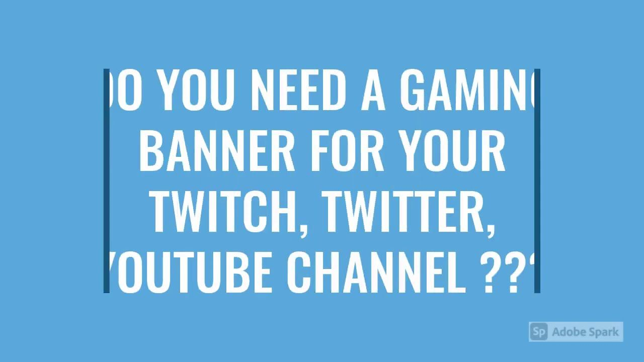 I Will Design A Gaming Banner Yt Twitch Twitter Youtube Banner Tw In 2020 Youtube Banners Gaming Banner Twitter Banner