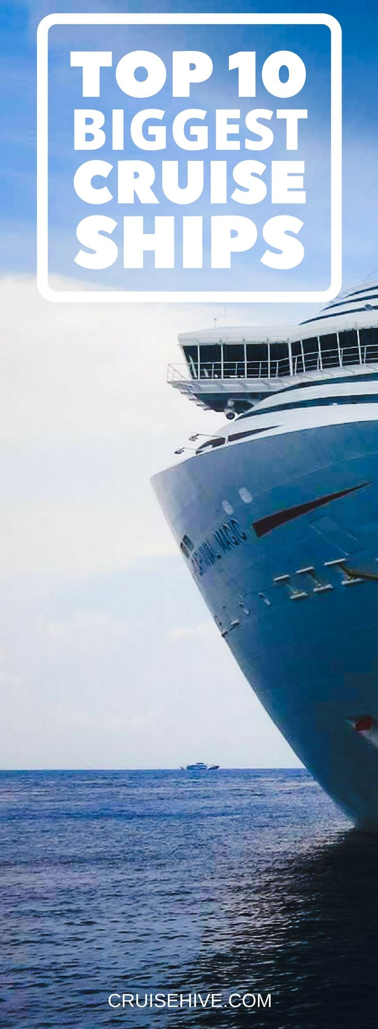 Top Biggest Cruise Ships In The World Biggest Cruise Ship - Biggest cruise ships list
