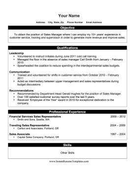 this printable internal promotion resume is great for anyone