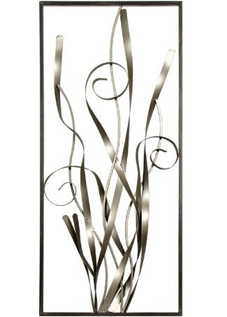 Stunning collection of funky metal wall art sculptures in a variety of sizes and shapes