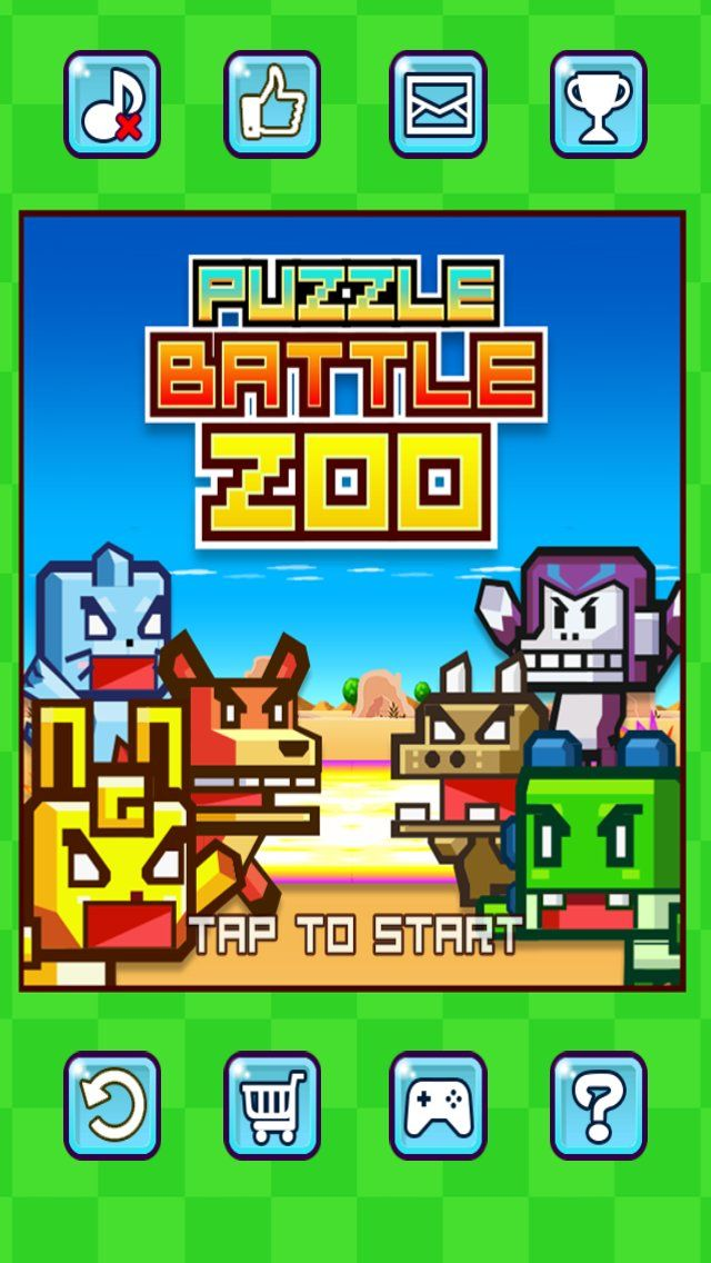 Puzzle Battle Zoo Multiplayer Match 3 Game | Top Selling IOS source