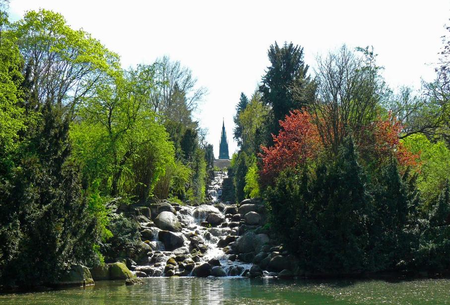 Berlijn / Viktoria Park