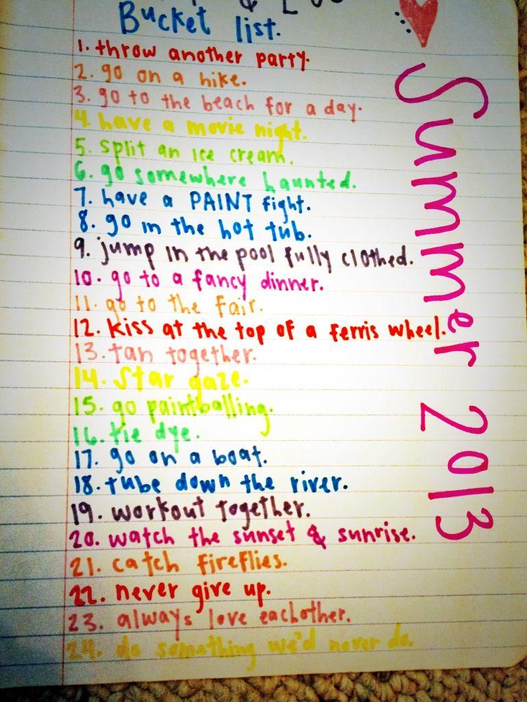 Bucket List For Couples Couple Bucket List Relationship Bucket