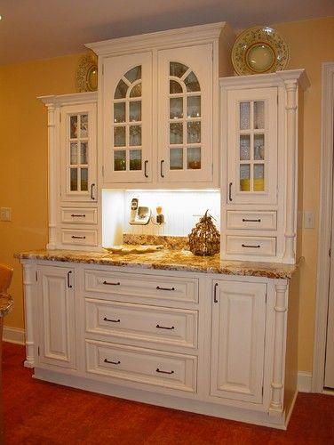 Kitchen Hutch Design Pictures Remodel Decor And Ideas  For The Beauteous White Kitchen Hutch Design Ideas