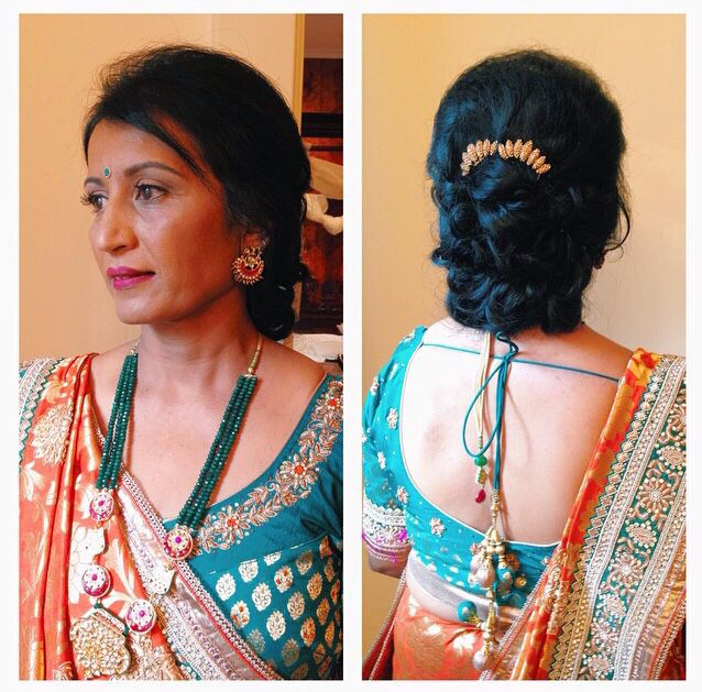 Mother Of The Bride Traditional Indian Wedding Mother Of The Bride Hair Indian Wedding Hairstyles Wedding Hairstyles Bride