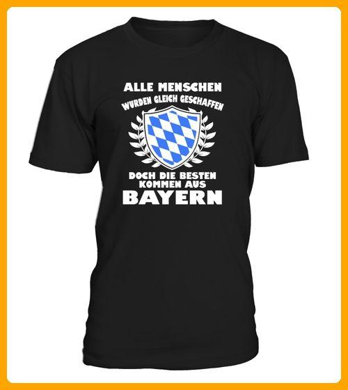 DIE BESTEN KOMMEN AUS BAYERN - Oktoberfest shirts (*Partner-Link)