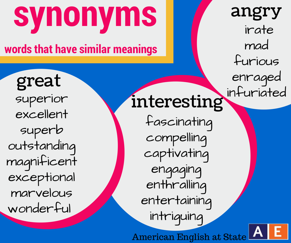 Do you find yourself using the same adjectives over and over again do you find yourself using the same adjectives over and over again learning synonyms solutioingenieria Choice Image