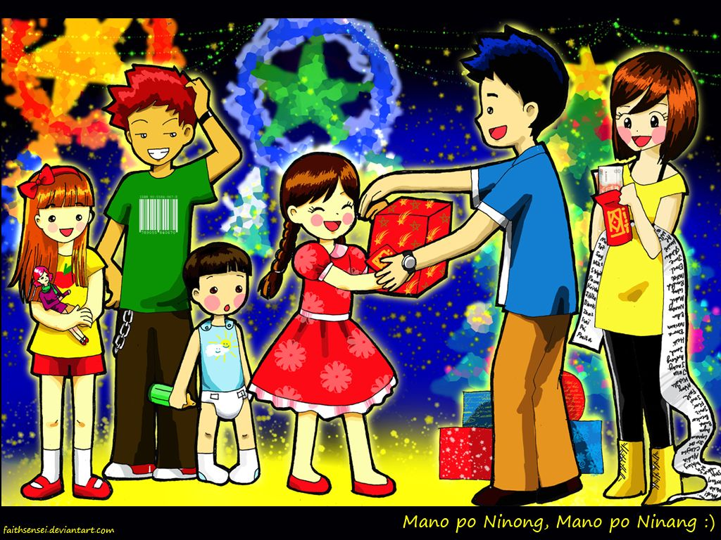 MANO PO, NINONG It is a tradition for Filipino children to ...