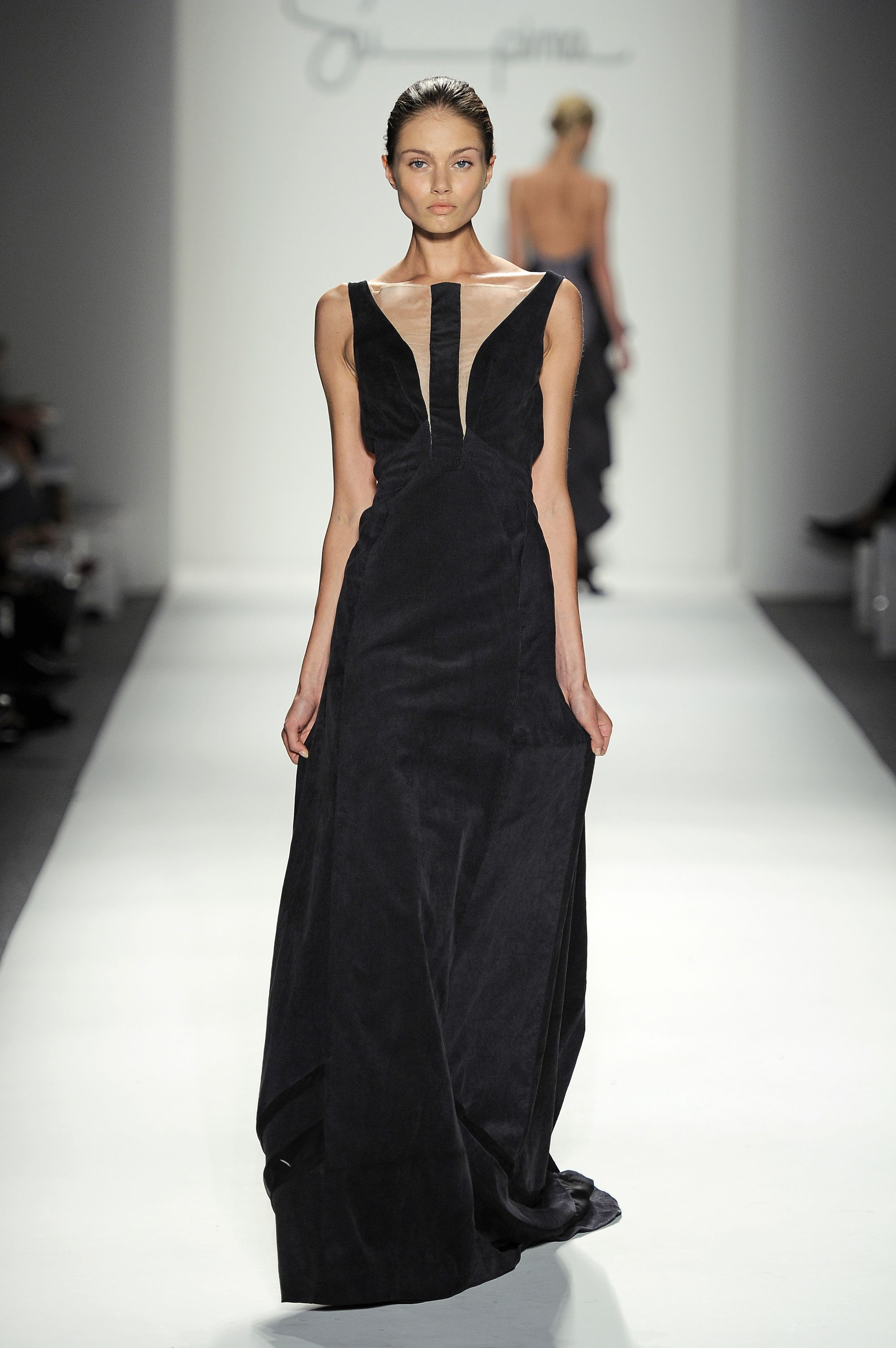Jacqueline Siefert - Made with Supima Corduroy Fabric Fashion Week 2012