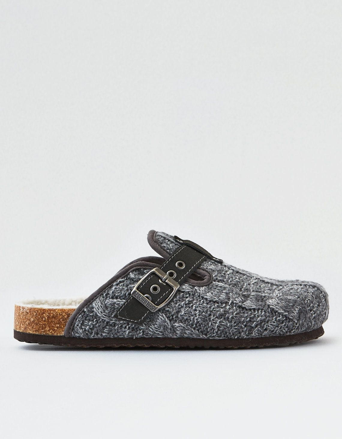 f842a2c88963 American Eagle cable knit clogs (knockoff birkenstocks)