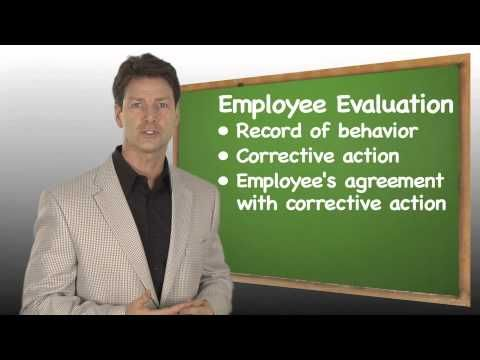 http\/\/bfsincnet Managing Problem Employees (4 of 4) Legal - employee evaluation form uses