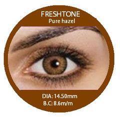 fresh tone pure hazel colored contacts - Colored Contacts Hazel