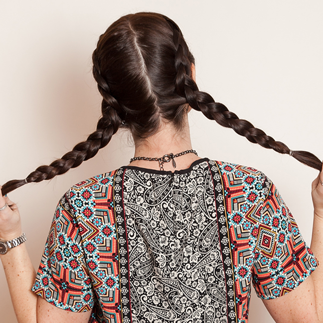 An easy, laid-back braid for days when you can't even.