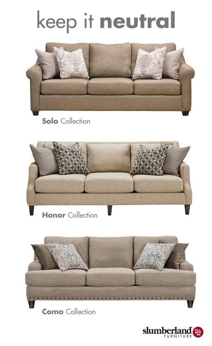 Keep It Neutral Sofas Slumberland Furniture Living Room Sofa Sofas #slumberland #living #room #sets