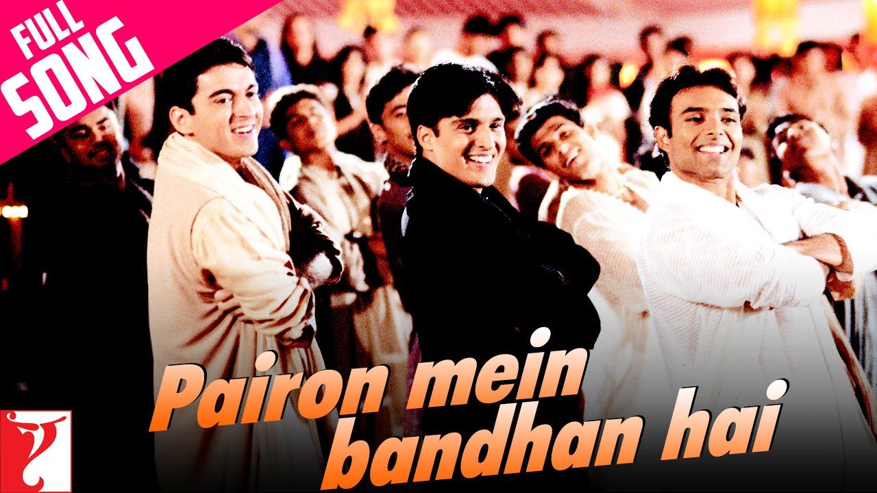 Pairon Mein Bandhan Hai Full Song Mohabbatein Uday Jugal Jimmy Songs No One Loves Me Mp3 Song Download