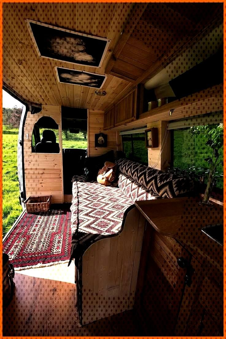 MacIntyre Quirky Campers Macintyre s van conversion is special From the warm colours and impeccable