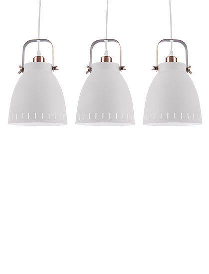 h ngelampe mingle aus metall im 3er set ideal ber dem esstisch k chenlampe h ngeleuchte mehrere. Black Bedroom Furniture Sets. Home Design Ideas