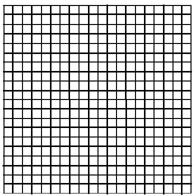Small grid graph paper- perfect for color charts