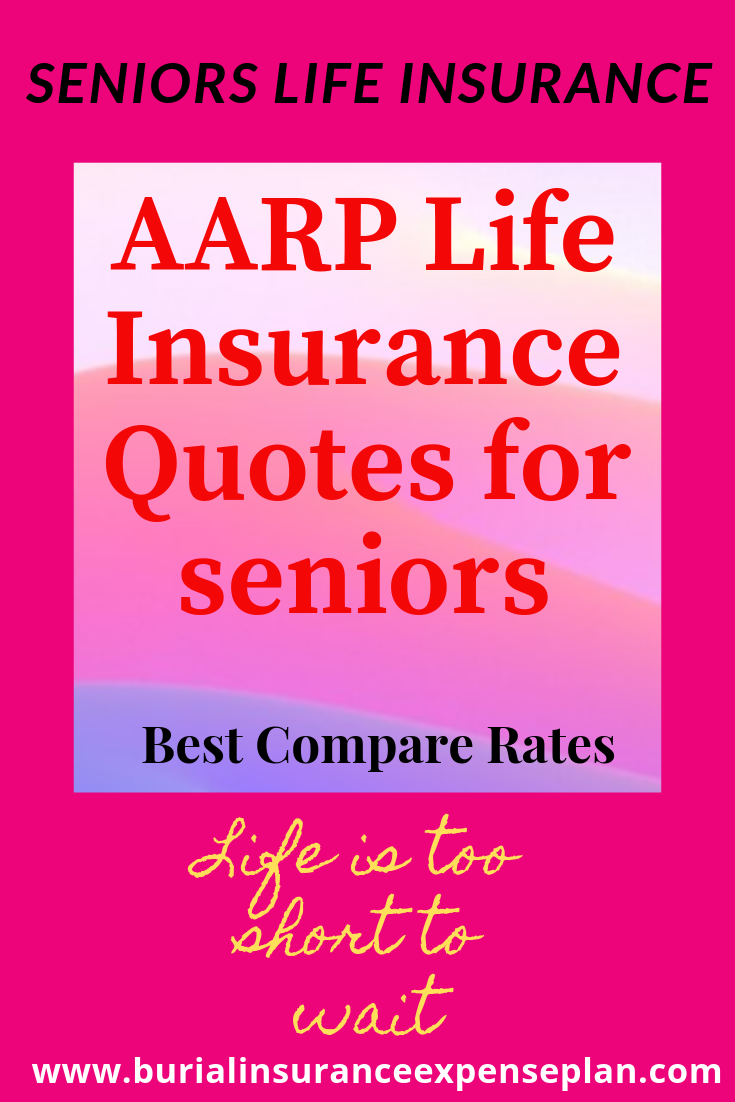 Aarp Lifeinsurance Quotes For Seniors Best Compare Rates Best