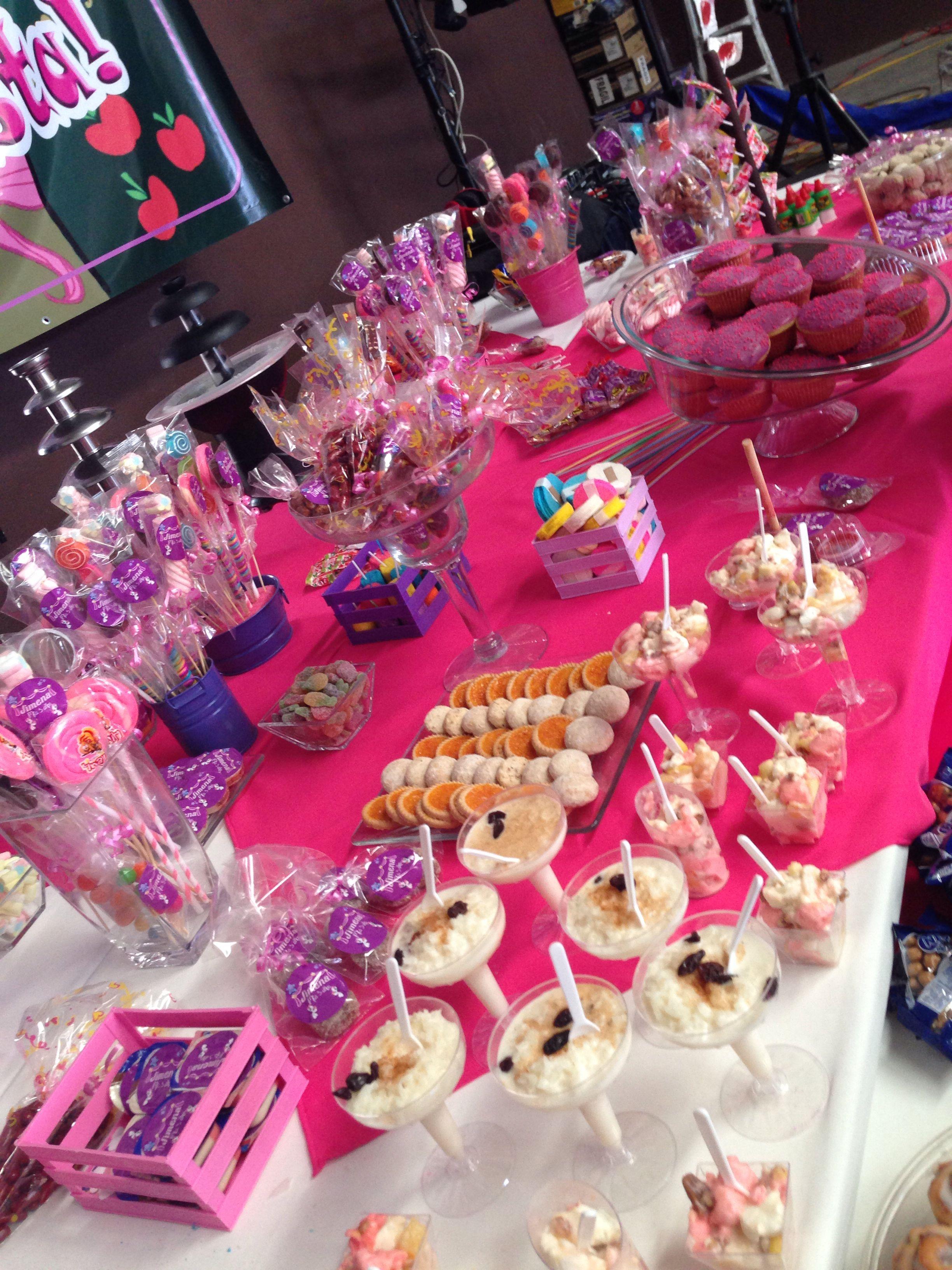 Mesa de dulces infantil chorchas party kids pinterest - Mesa dulce infantil ...