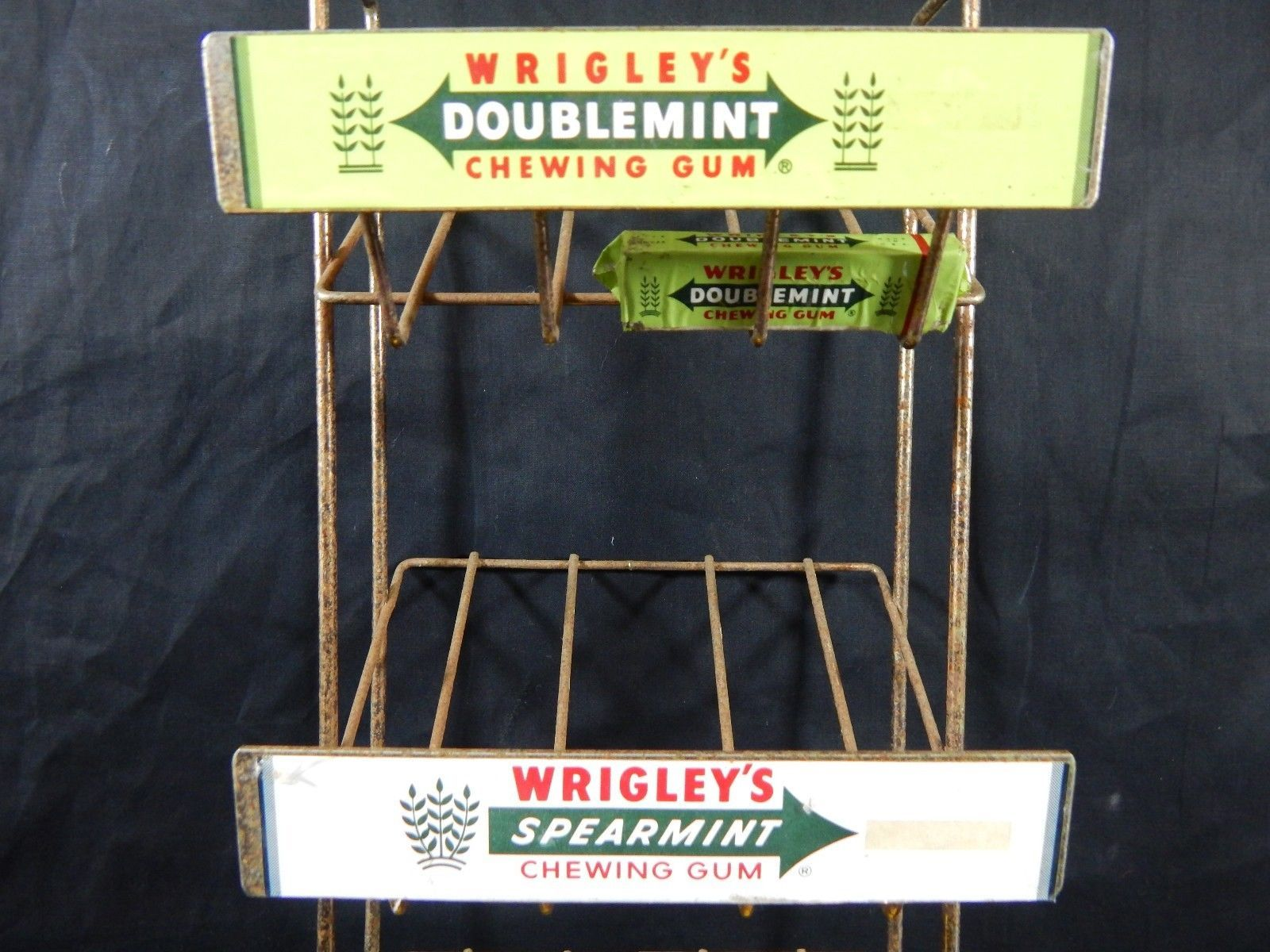 Countertop Signs Wrigley S Chewing Gum Counter Top Display Advertising Sign Rack