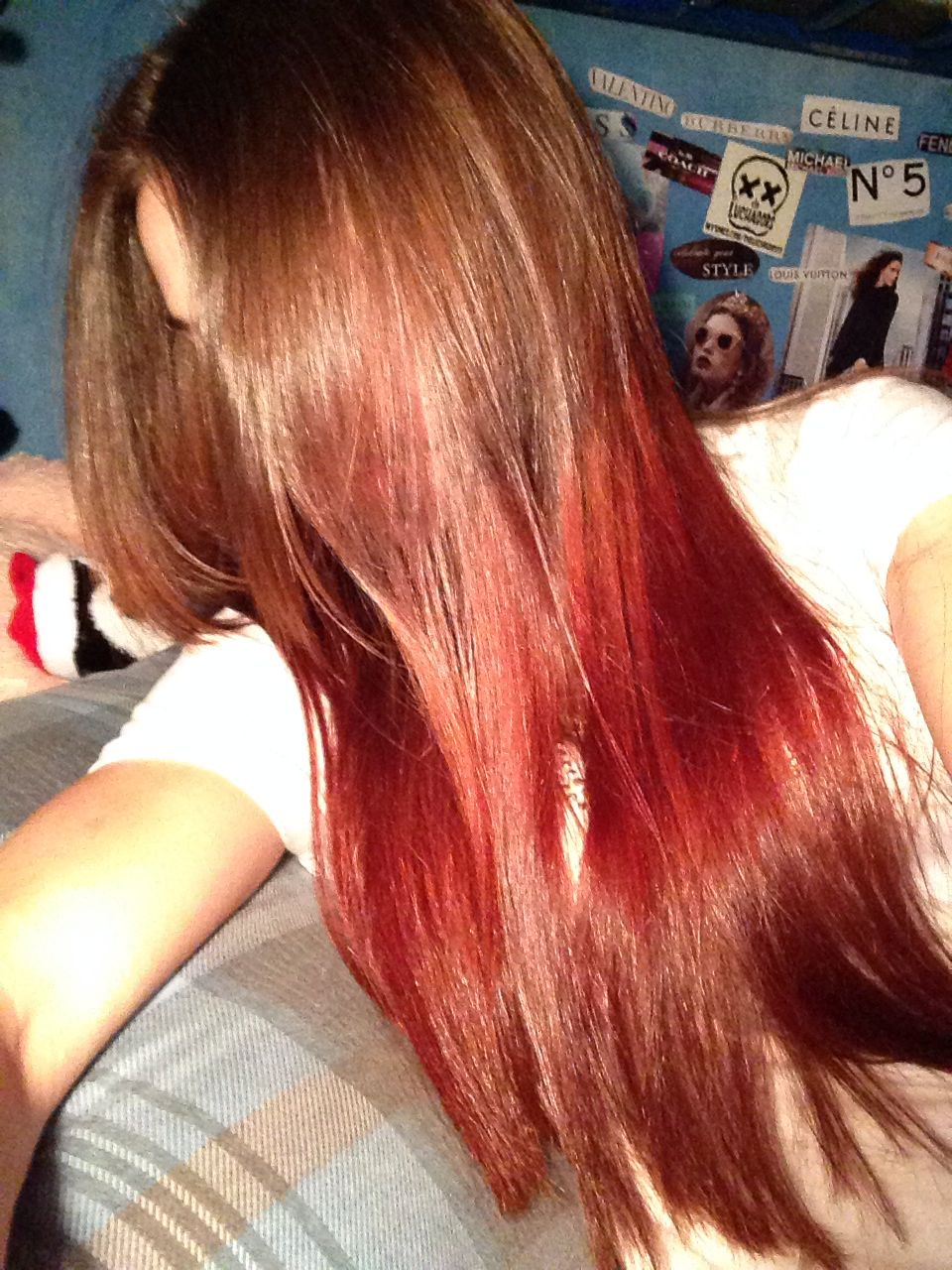 Dirty Blonde To Red Brown Ombre Hair Hair Hair Ombre Hair