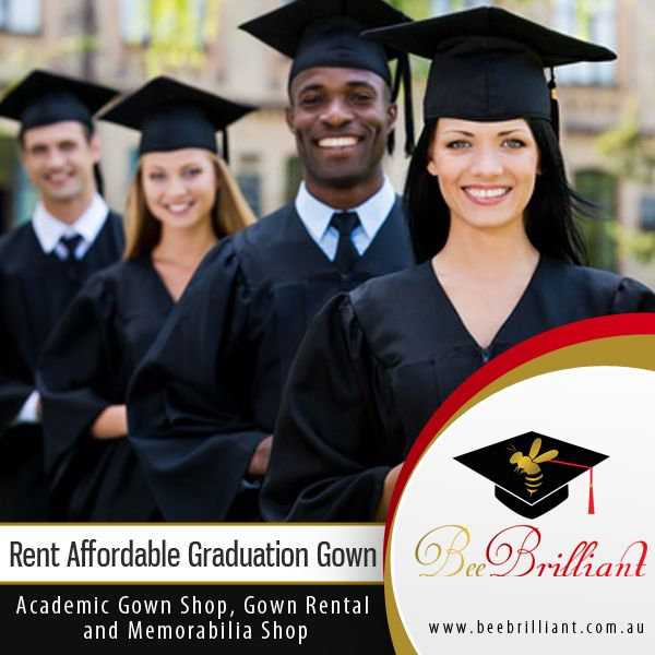 Rent Affordable Graduation Gown Bee Brilliant a gown-hire company in ...