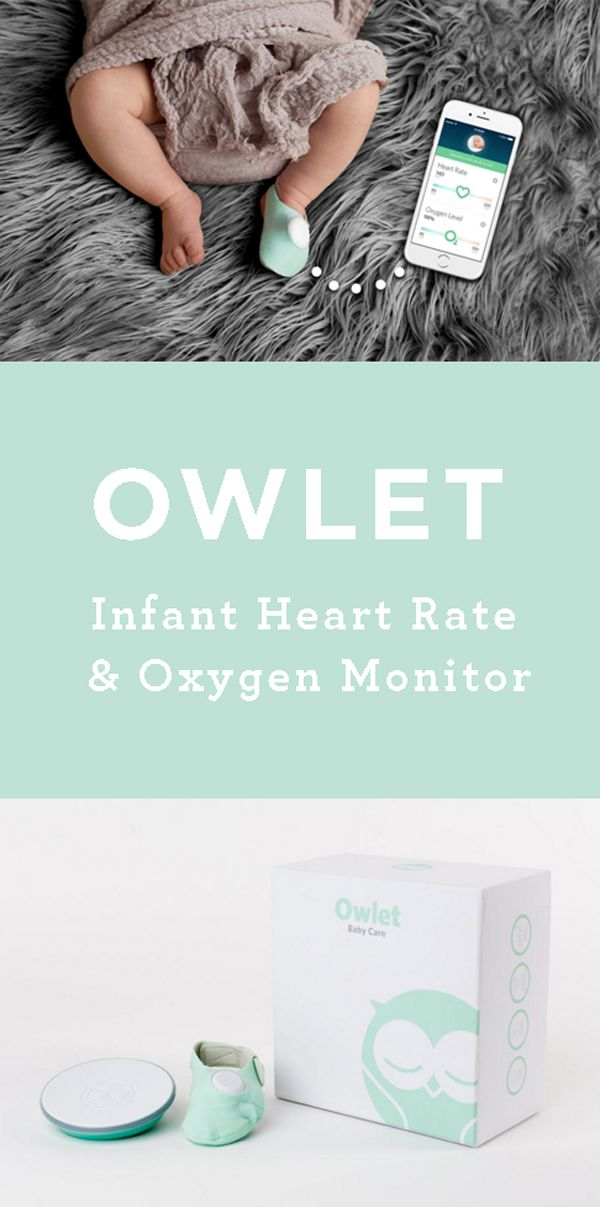 The Owlet Baby Monitor Sock Bad Ass Baby Stuff New