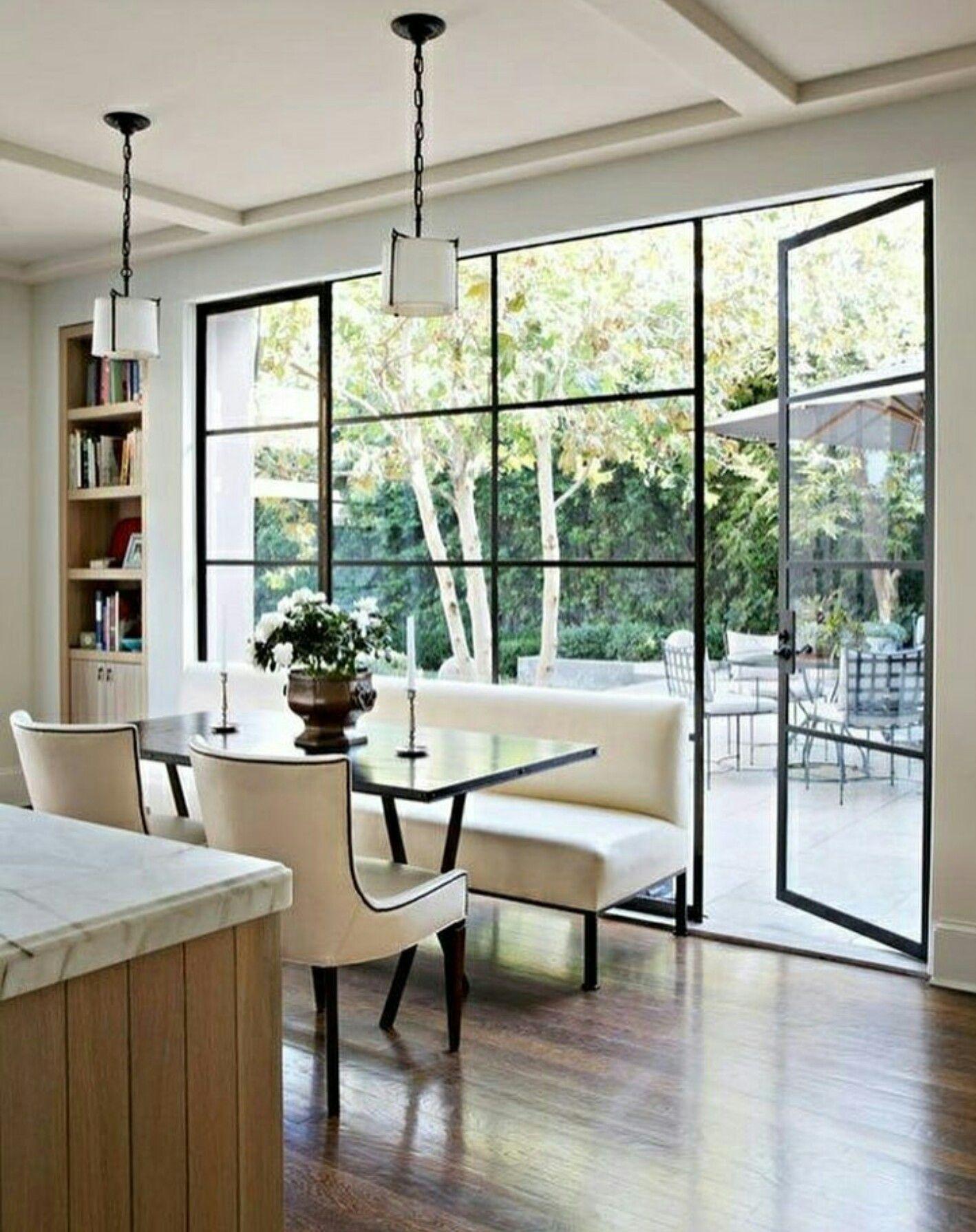 Love this black glass doors cocina comedor pinterest - Puertas de comedor ...