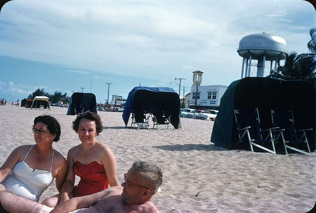 Ft Lauderdale Beach 1955 Lauderdale Beach Photo Old Florida