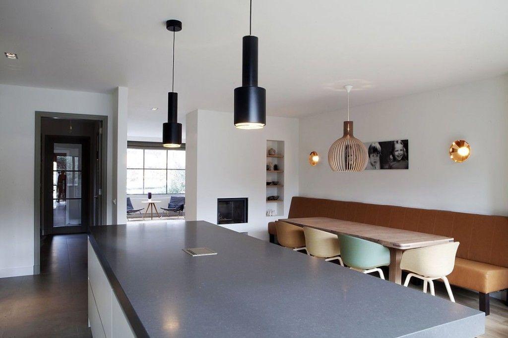 Bankje in eetkamer | Keuken | Pinterest | Banquettes, Interiors and ...