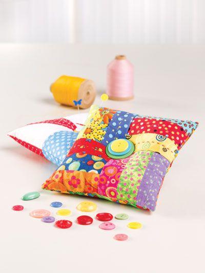 Patchwork Pincushions | Sewing | Pinterest | Nadelkissen und Nähen