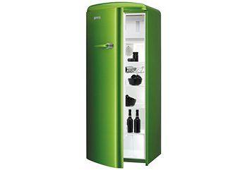 Gorenje Kühlschrank R 6192 Fw : Gorenje retro kühlschrank in metallic grün household appliances