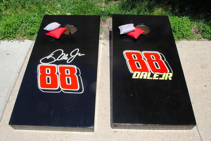 Dale Jr 88 Cornhole Set With Bags