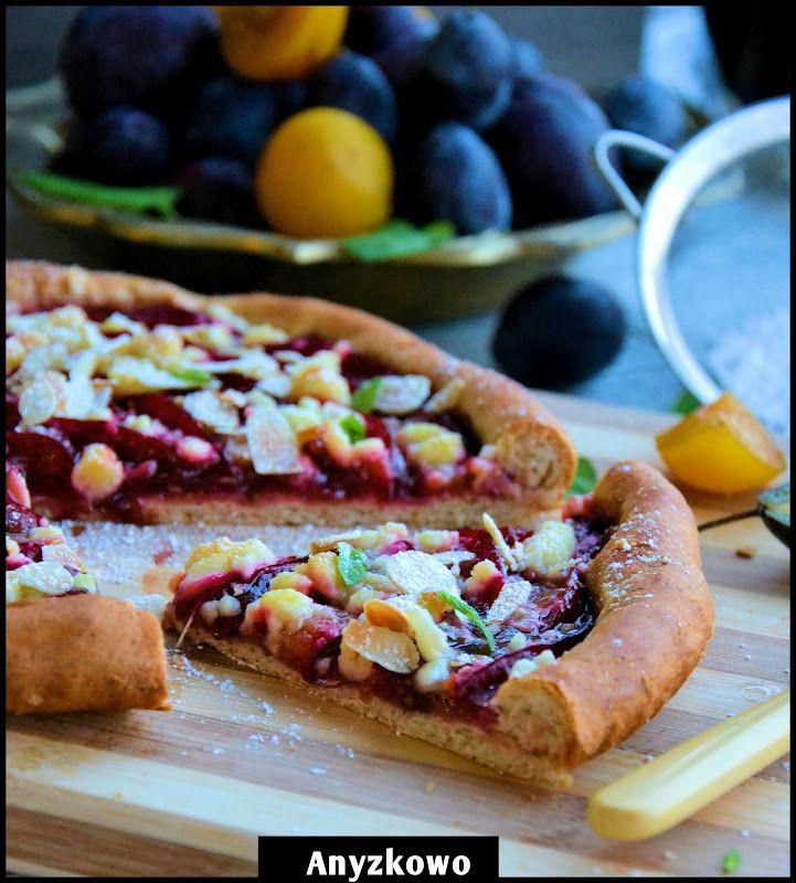 pizza plum crumble