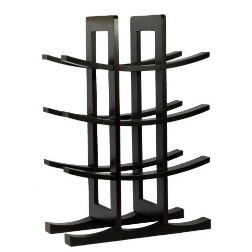 Wine Racks - Oceanstar WR1132 12Bottle Dark Espresso Bamboo Wine Rack -- For more information, visit image link.