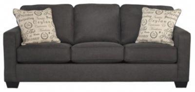 Ashley Alenya Charcoal Queen Sleeper Sofa Ashleyfurniture