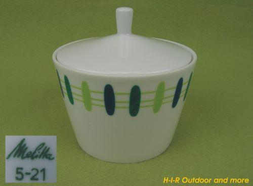Melitta 5-21 Porzellan Zuckerdose Zuckerschüssel Zuckerschale Vintage 50er 60er | eBay 14,50