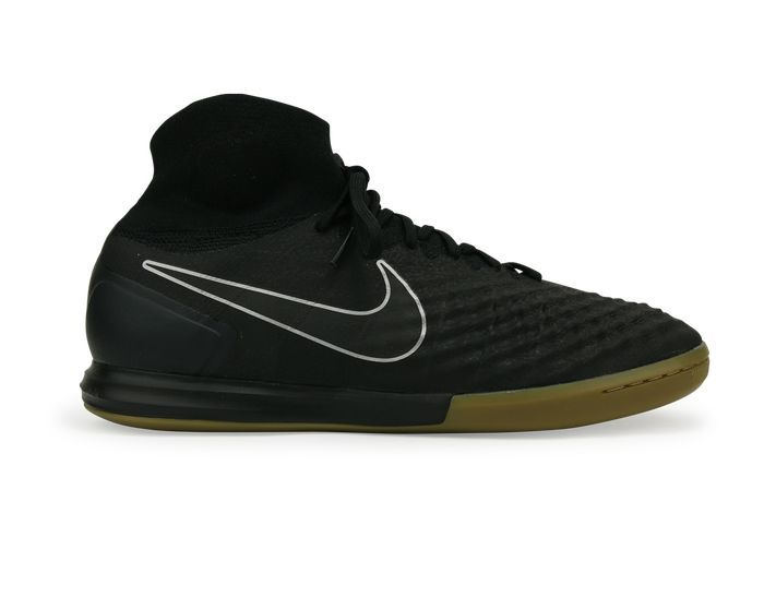 1c464c9b5 Nike Men s MagistaX Proximo II Indoor Soccer Shoes Black Gum Light Brown