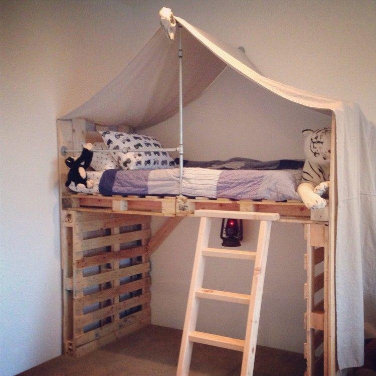 Pallet Kids Bed More