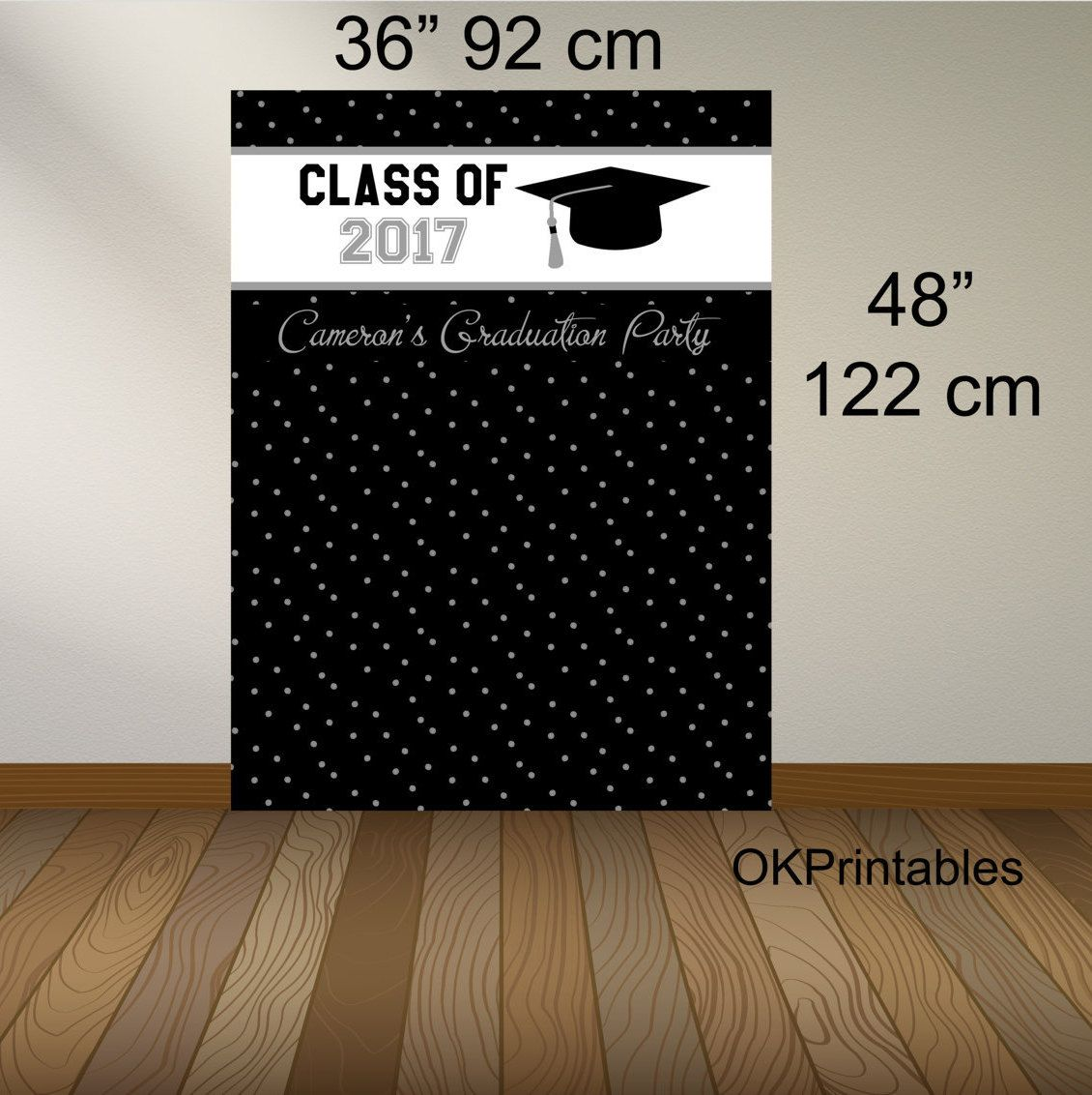 Graduation Photo Booth Backdrop Graduation Party Class Of 2018