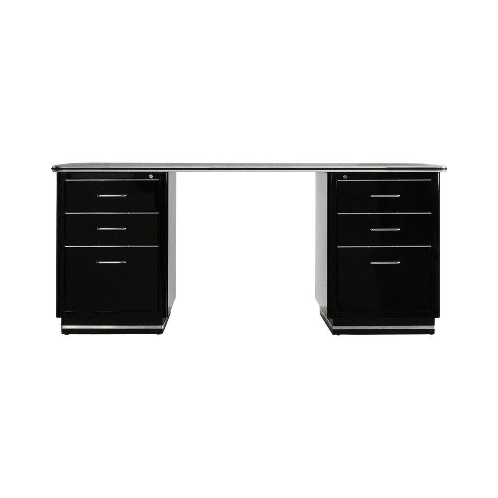 Pin on Black desk