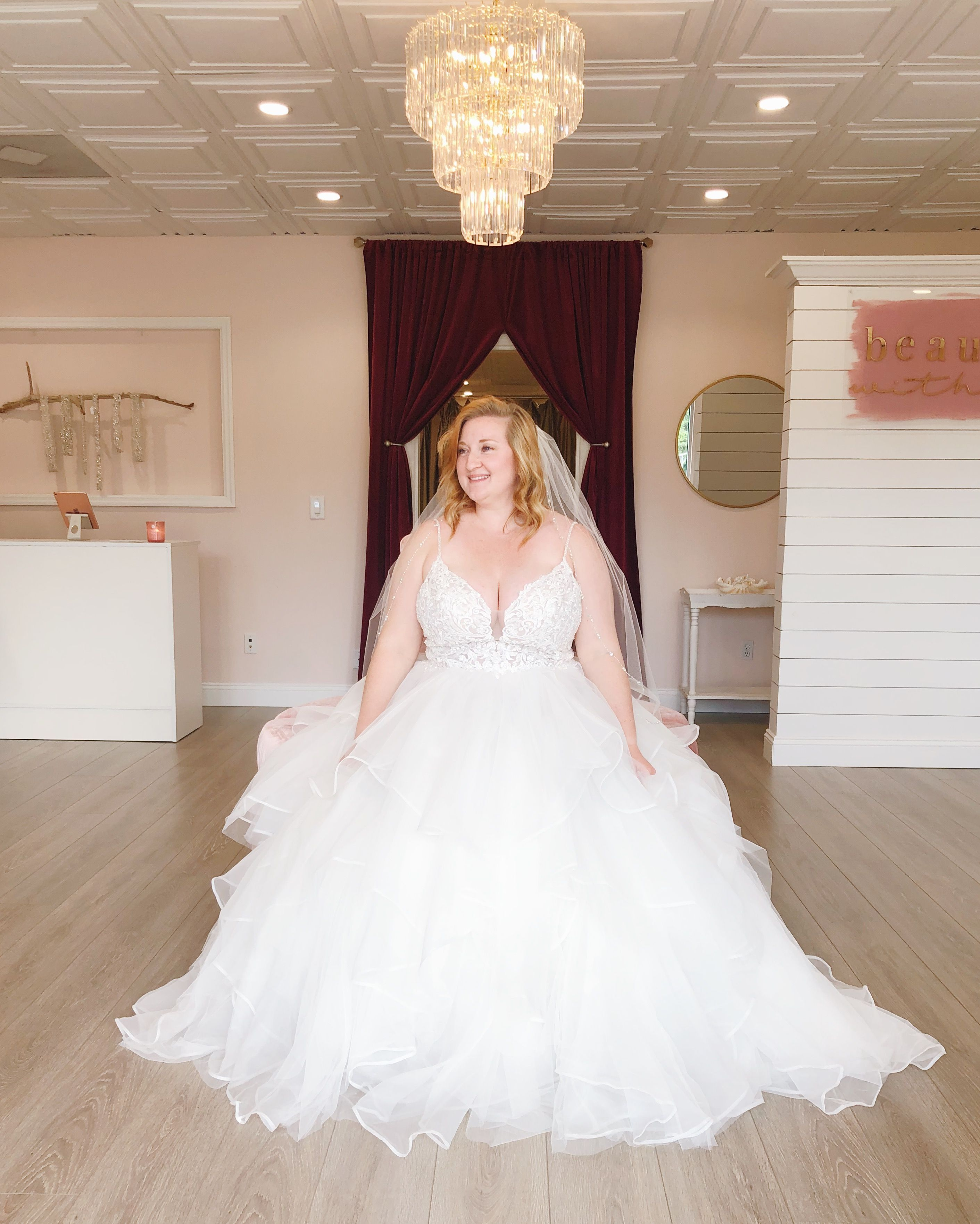 W O W Doesn T This New Plus Size Ball Gown Style Wedding Dress Just Take Your Breath Away You Can Try On This Brid Ball Gowns Bridal Gowns Wedding Dresses [ 3525 x 2822 Pixel ]