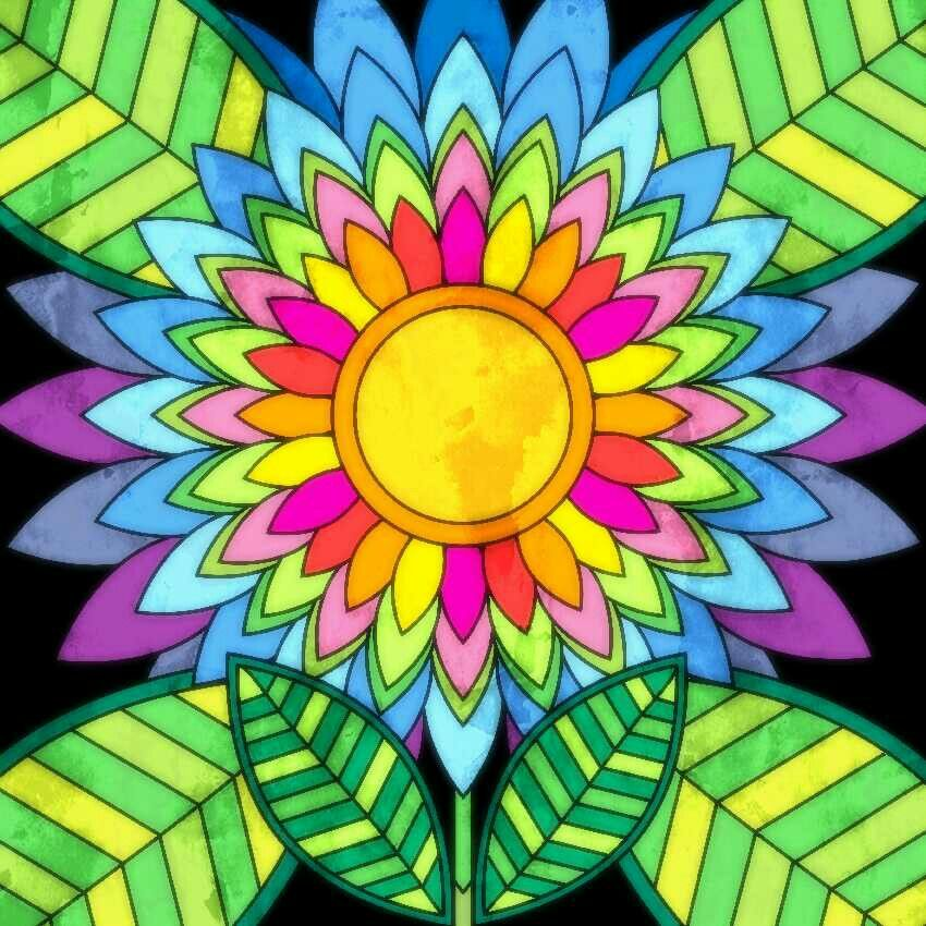 Already Colored image by Katie Thomas Colorful art