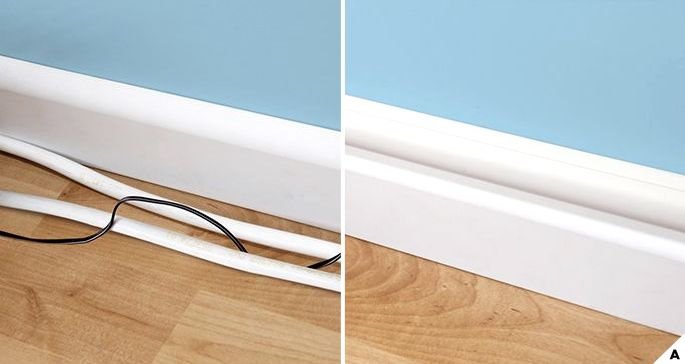 Creative Ideas How To Hide Wires And Cords Hide Wires On Wall
