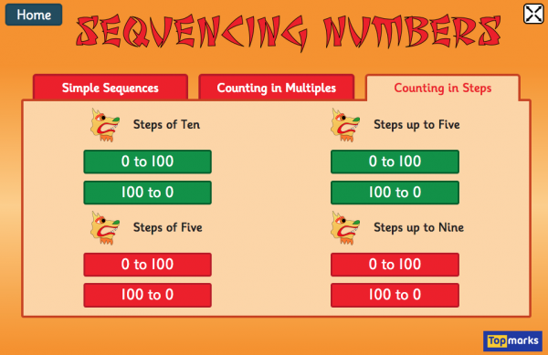Try This Ordering And Sequencing Numbers Maths Game On Chinese