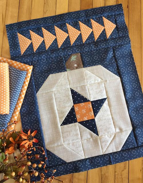 Pumpkin Sky Pillow Let S Feature A White Pumpkin Fall Quilt Patterns Halloween Quilt Patterns Quilts