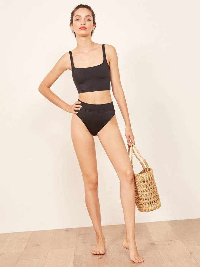 43407f496cc Reformation Kona Bikini Bottom in 2019 | Fashion Illustration ...